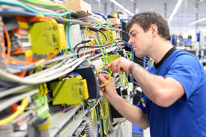 Produktionshelfer Elektro